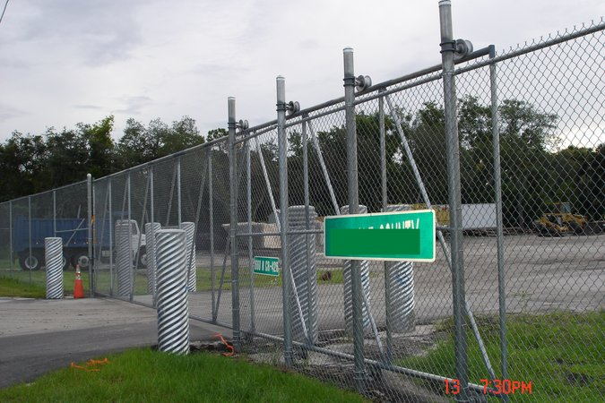 Professional installed chain link fence for Chain link fence planner