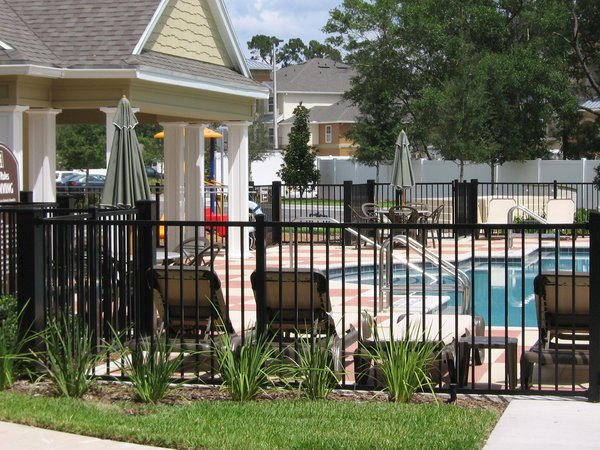 Steel And Aluminum Fence Gallery Rose Fence Company
