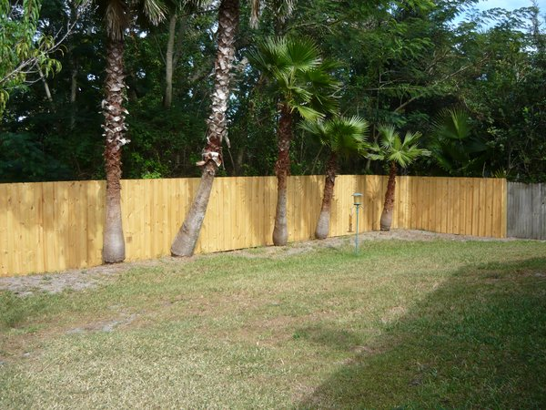 Professional Installed Wood Fence