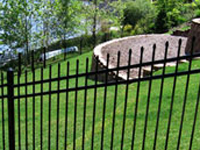 3rail classic Ornamental Aluminum and Steel Fencing