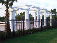 commercial Ornamental Aluminum and Steel Fencing