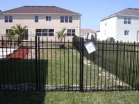 residential Ornamental Aluminum and Steel Fencing