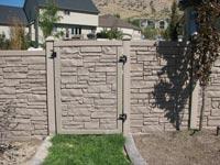 Dark stone wall
