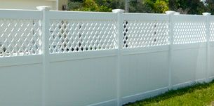 Vinyl/PVC at Rose Fence Company