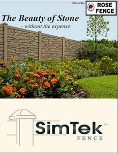 Ecostone Fence Pro brochure
