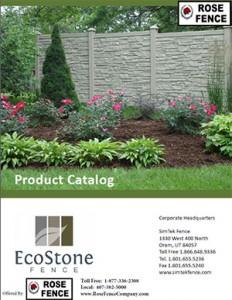 Ecostone Fence brochure